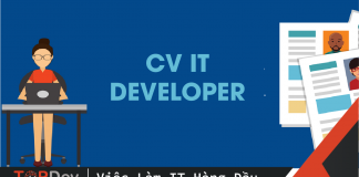 tạo cv it developer