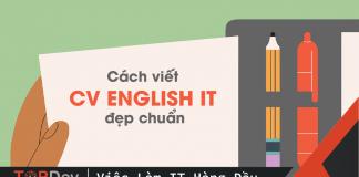 cv english it