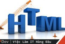 HTML cơ bản toàn tập cho người mới phần 1