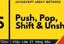 9+ cách để xóa một phần tử ra khỏi JavaScript Array
