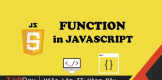 Khai báo function trong javascript