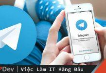 Telegram : Tạo Bot và làm vài thứ vui vẻ