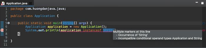 Toán tử instanceof trong Java