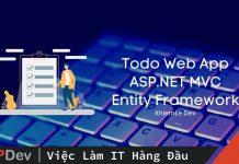 Todo App ASP.NET MVC x Entity Framework