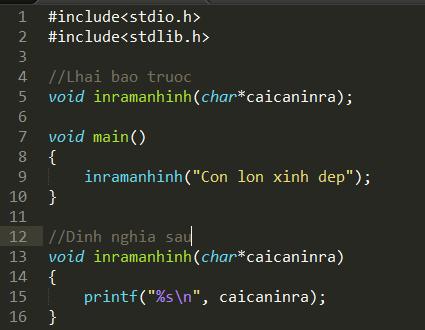 Tự tạo một hàm printf thay thế cho hàm printf mặc định trong thư viện stdio.h (phần 2)