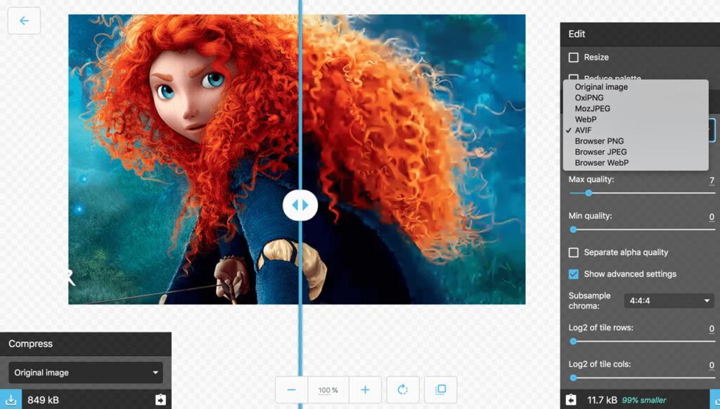 Định dạng ảnh mới AVIF liệu có soán ngôi vương của JPEG và PNG?