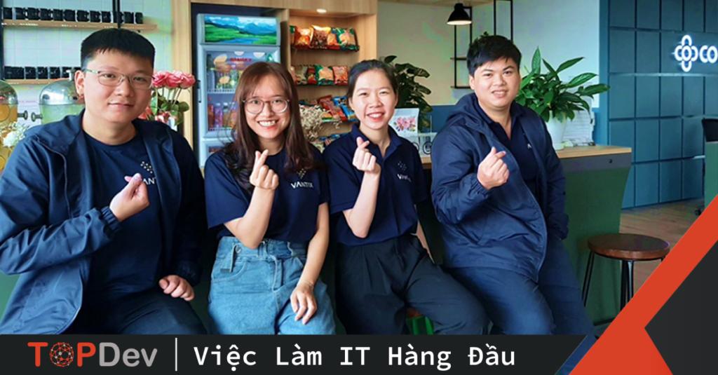 Vantix - Bệ phóng lý tưởng cho các tài năng công nghệ vươn tầm sự nghiệp