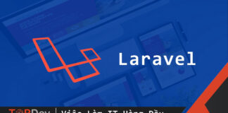 Laravel view xây dựng logic trong giao diện