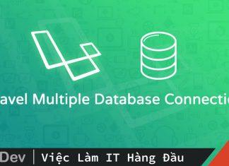 Làm việc với cơ sở dữ liệu trong Laravel