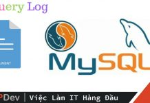 Log MySQL Query