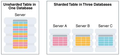 Phân chia dữ liệu - Sharding/Data Partitioning