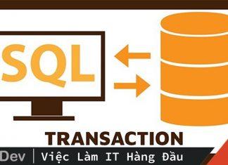 Khái niệm transaction trong database