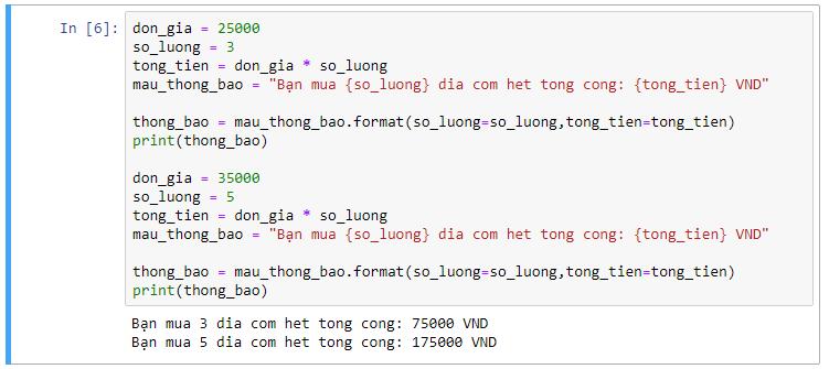 Kiểu dữ liệu chuỗi và định dạng chuỗi trong Python