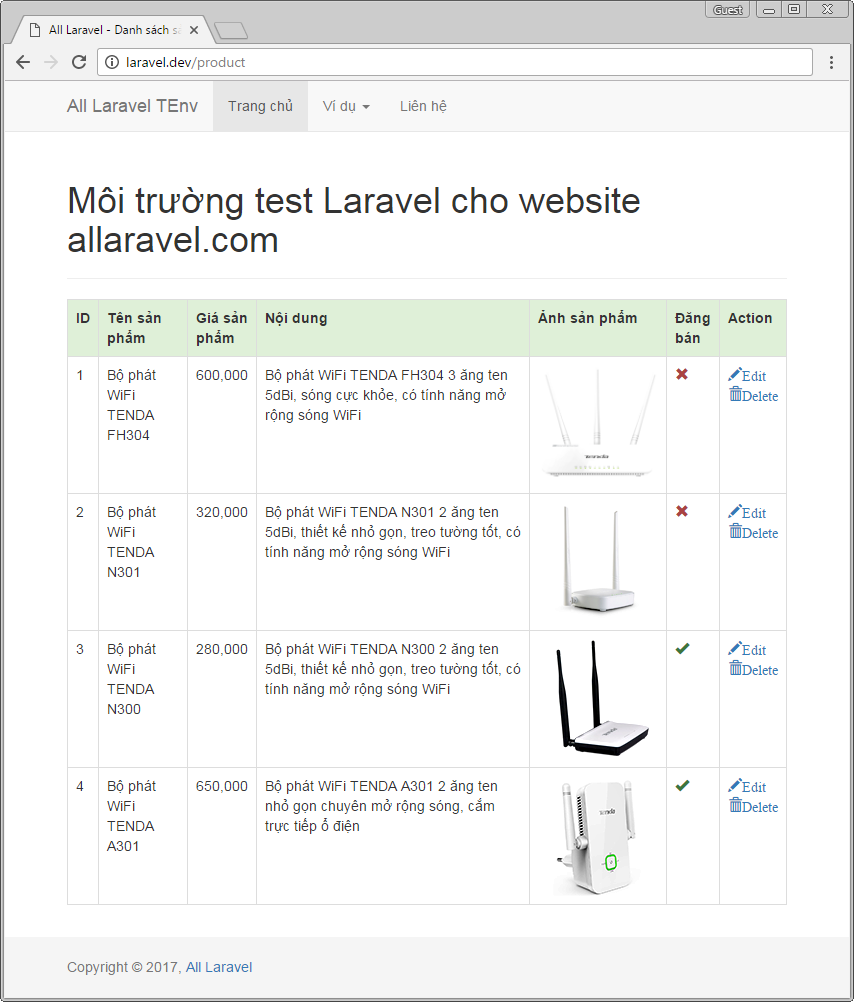 Xây dựng truy vấn bằng Laravel Query Builder