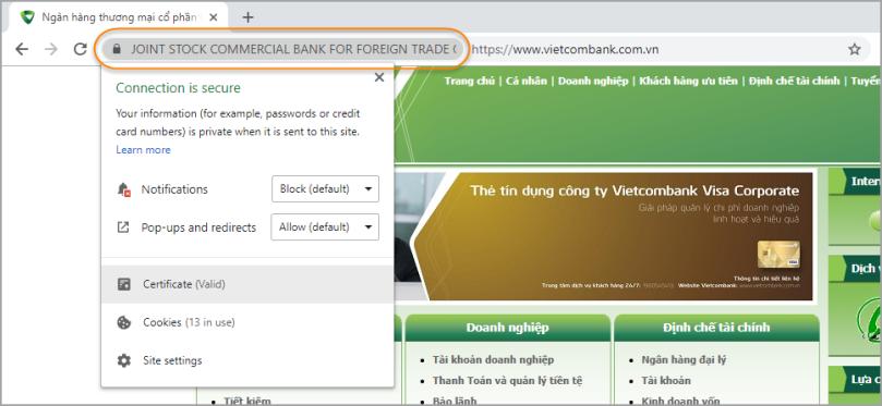 Xử lý SSL Certificate trong Selenium WebDriver