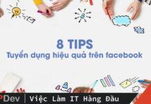 tuyển dụng hiệu quả trên facebook
