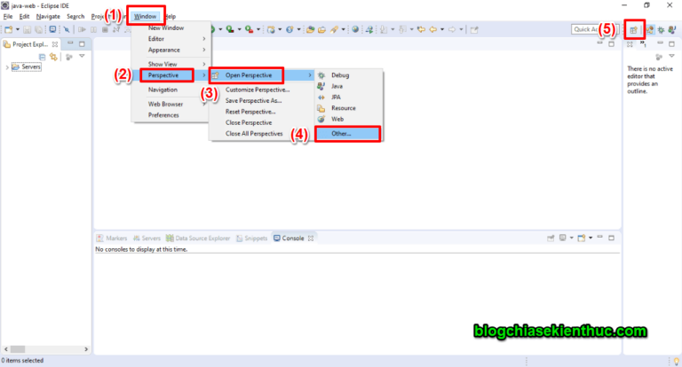 Hướng dẫn cách kết nối đến Database MySQL trong Eclipse