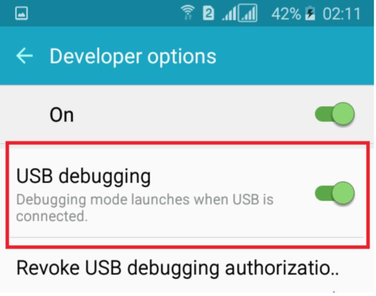 Lập trình Android trên thiết bị thật qua USB cable