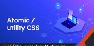 A taste of Atomic CSS