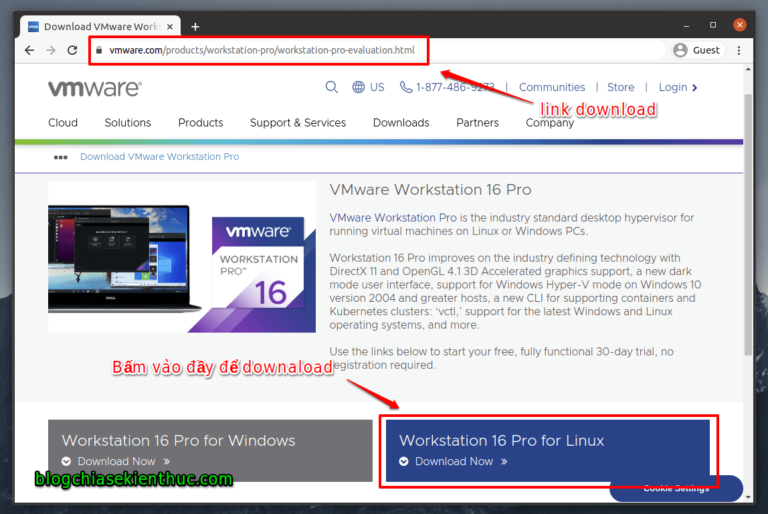 Hướng dẫn cách cài đặt VMware Workstation trên Ubuntu