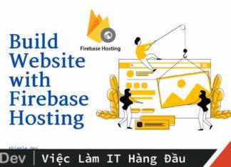 Tạo website với Firebase Hosting