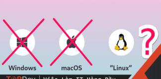 5 lý do lập trình viên nên sử dụng hệ điều hành Linux
