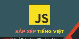 Sắp xếp (sort) string Tiếng Việt