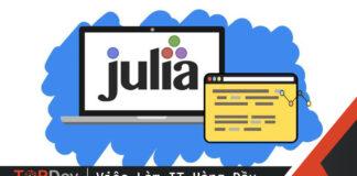 Biết Python - quen ngay Julia