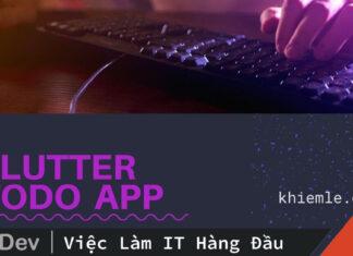 Todo App Flutter – Real Code