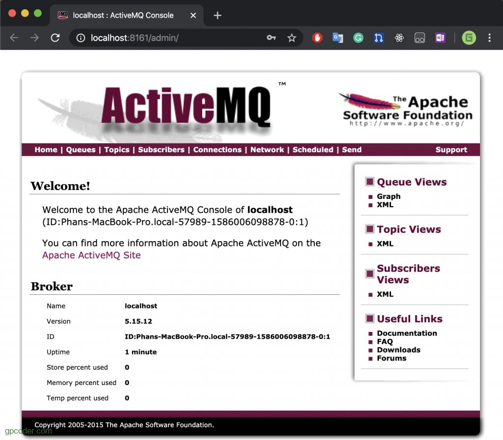 Cài đặt ActiveMQ