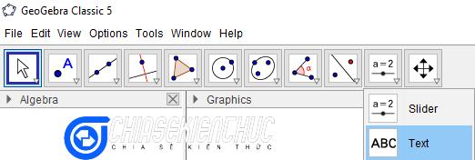 Hướng dẫn cách tùy chỉnh GeoGebra trước khi sử dụng