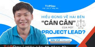 công việc của project lead