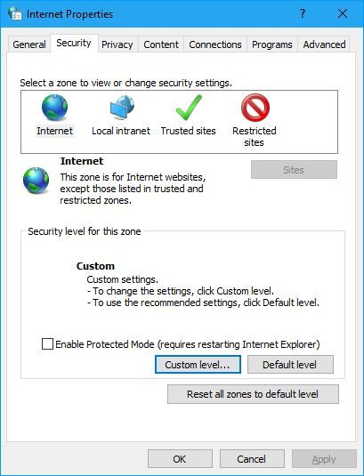 """Fix Lỗi FTP Client Windows Server """"Current Security Settings Do Not Allow This File To Be Downloaded"""""""