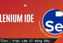 Mind map Selenium IDE đơn giản hơn bao giờ hết
