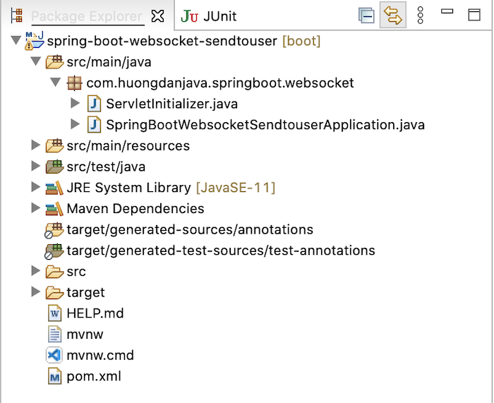 Gửi private message với @SendToUser annotation trong Spring WebSocket