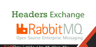 Sử dụng Headers Exchange trong RabbitMQ