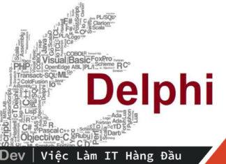 Dự án đầu tiên – Ngôn ngữ Delphi