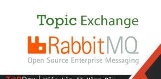 Sử dụng Topic Exchange (Publish/Subscribe) trong RabbitMQ