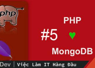 Truy vấn cơ sở dữ liệu MongoDB bằng PHP