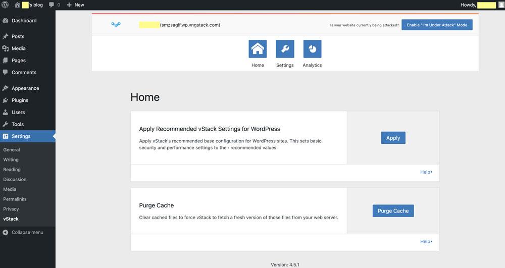 Tăng Tốc Và Bảo Mật Website Với vStack WordPress Plugin