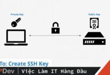 cài đặt ssh key