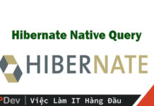 native sql queries